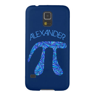 Blue Pi Symbol Math Geek Science Nerd Fun Galaxy S5 Case