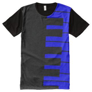 Blue Piano Key T-shirt