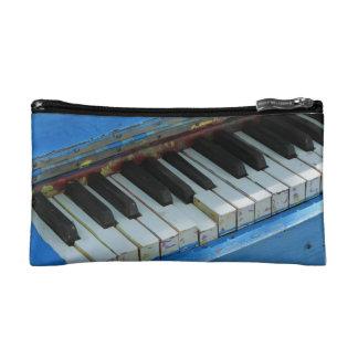 Blue Piano Makeup Bag