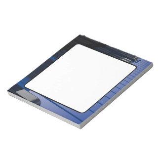Blue Piano Scratch Pad
