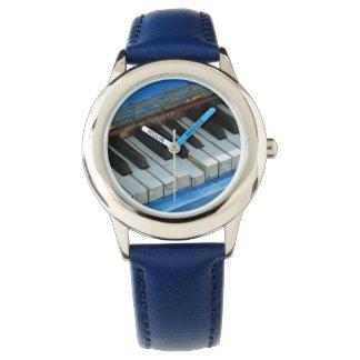 Blue Piano Wristwatch
