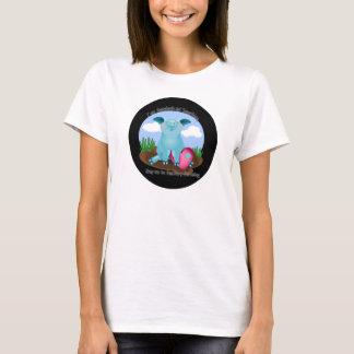 Blue pig - Say No to Factory Farming T-Shirt