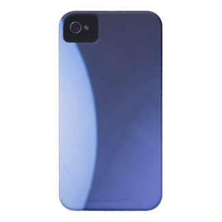 Blue pilates gym aerobicses exercise ball in gymna iPhone 4 Case-Mate case