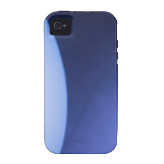 Blue pilates gym aerobicses exercise ball in gymna Case-Mate iPhone 4 case