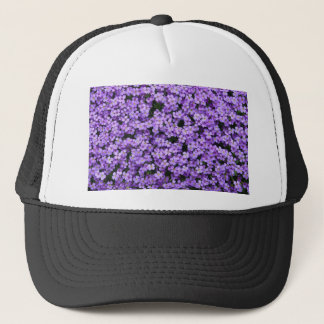 Blue Pillow Flowers Trucker Hat