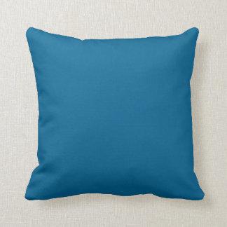 Blue Pillow for 1960's Retro Flower Power
