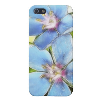Blue Pimpernel (Anagallis monelli) Flowers Case For iPhone SE/5/5s