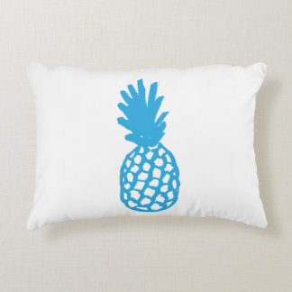 Blue Pineapple Accent Pillow