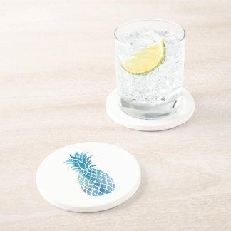 blue pineapple coaster