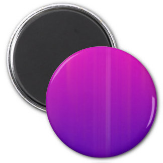 Blue & Pink Abstract Artwork: 2 Inch Round Magnet