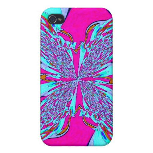 Blue Pink Abstract Speck Case iPhone 4/4S Case