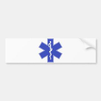 Blue Pink Aqua Baby Hot  Nurse EMS Star of Life Bumper Stickers