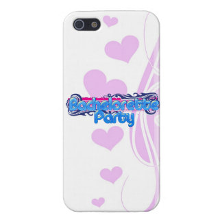 blue pink bachelorette wedding bridal shower party case for iPhone 5