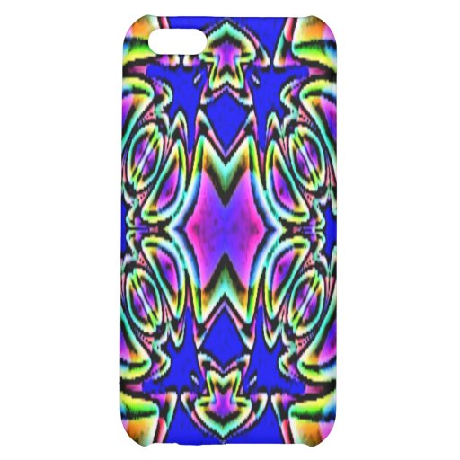 Blue Pink Buckle Design Speck Case iPhone 5C Cover