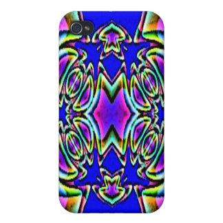 Blue Pink Buckle Design Speck Case Case For iPhone 4