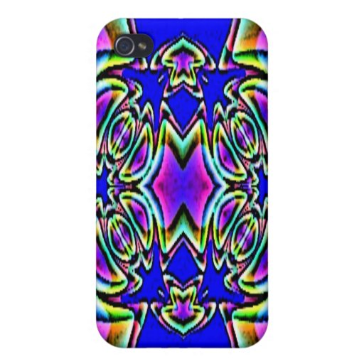 Blue Pink Buckle Design Speck Case Case For iPhone 4