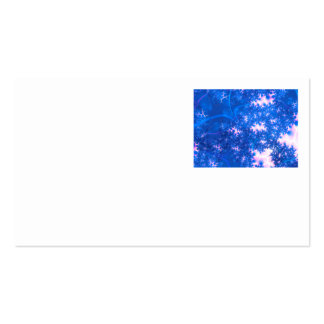 Blue Pink Delicate Cosmic Growth, Osmosis Abstract Business Cards