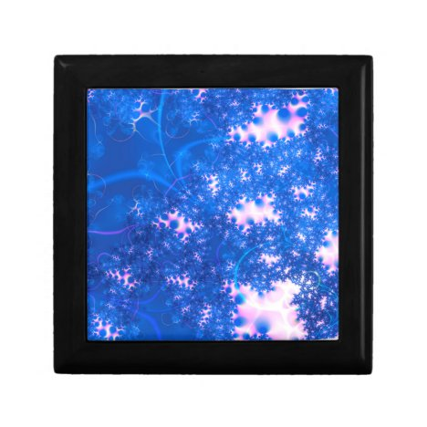 Blue Pink Delicate Cosmic Growth, Osmosis Abstract Gift Box