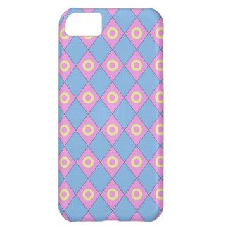 Blue Pink Diamonds iPhone 5 Case