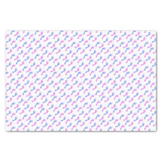 """Blue & Pink Footprints 