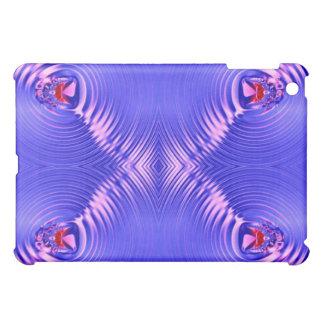 blue pink ripple iPad mini covers