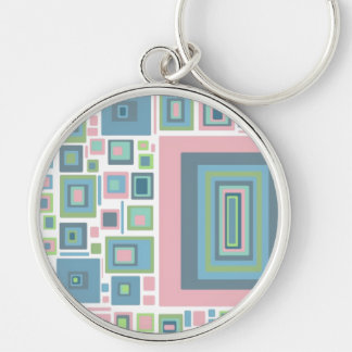 Blue Pink+ Soft Colours, template Keychain