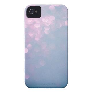 Blue & Pink Soft Focus Glitter iPhone 4 Case
