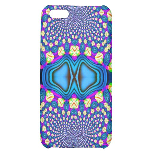 Blue Pink Yellow Design Speck Case iPhone 5C Case