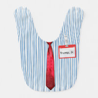 Blue Pinstripes, Red Power Tie,