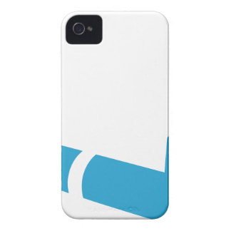 Blue Pipe Icon iPhone 4 Cover