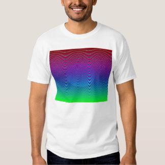 Blue Pixel Sunset #1 (app) T Shirt