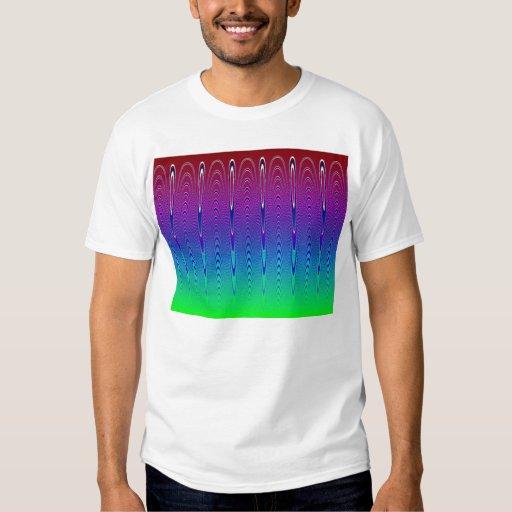 Blue Pixel Sunset #6 (app) T-shirt
