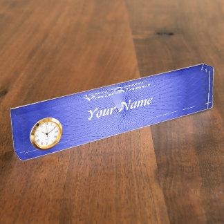 Blue Plafond Desk Name Plate