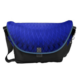 Blue Plafond Messenger Bag