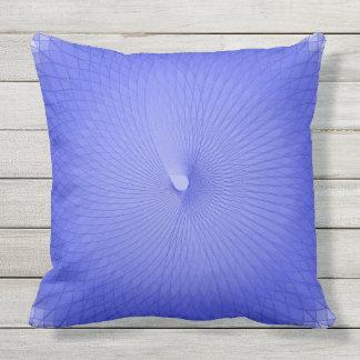 Blue Plafond Outdoor Pillow
