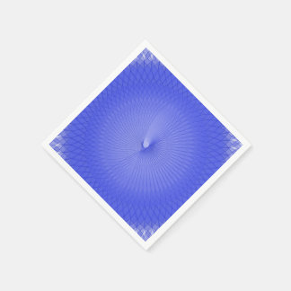 Blue Plafond Paper Napkin