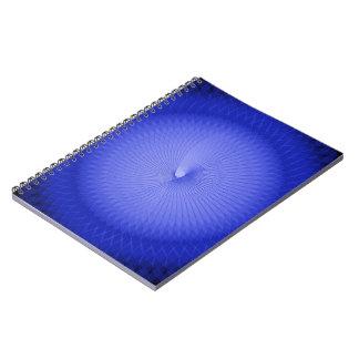 Blue Plafond Spiral Notebook