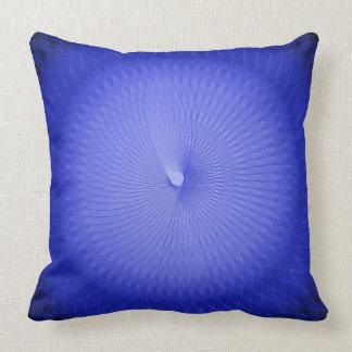 Blue Plafond Throw Pillow