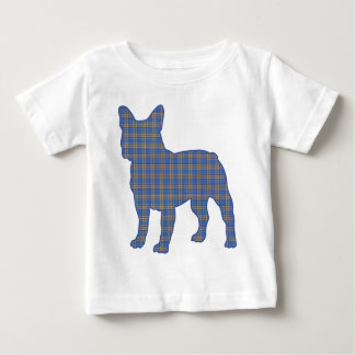 blue_plaid_ baby T-Shirt