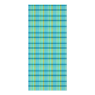 Blue Plaid by Shirley Taylor Rack Card