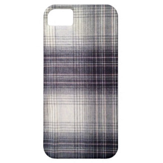 Blue plaid iPhone 5 cover