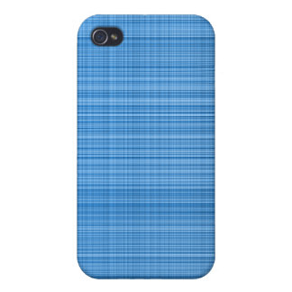 Blue Plaid Case iPhone 4 Covers