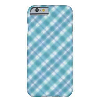 Blue Plaid Digital Art Phone Case