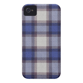 Blue Plaid iPhone 4 Cover