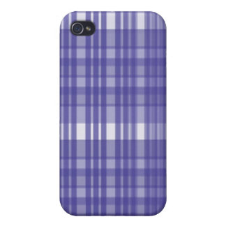 Blue Plaid iPhone 4/4S Cover