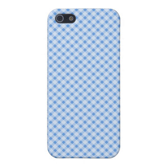 Blue Plaid iPhone Case iPhone 5/5S Cases