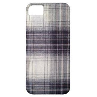 Blue plaid iPhone SE/5/5s case