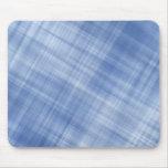 Blue Plaid Mouse Pad