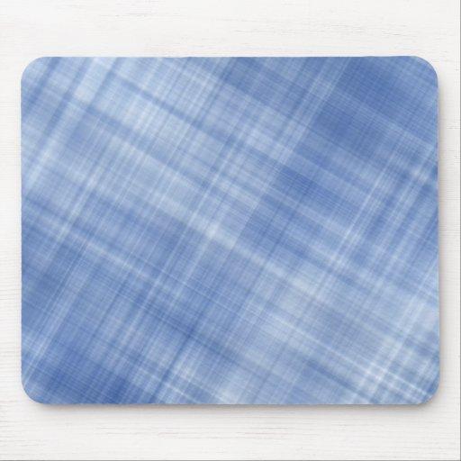 Blue Plaid Mousepad