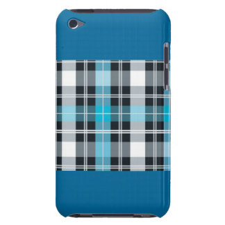 Blue Plaid Style for iPhone iPod Touch Case-Mate Case
